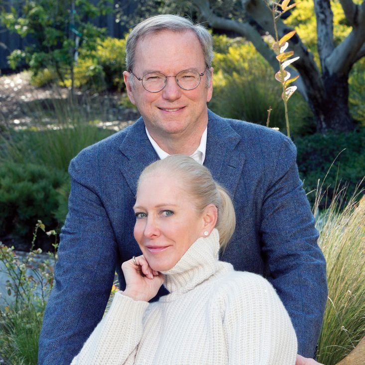Schmidt Ocean Institute founders Eric and Wendy Schmidt.